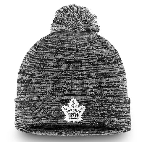 FANATICS MEN'S TORONTO MAPLE LEAFS CUFFED KNIT POM BEANIE BLUE/WHITE