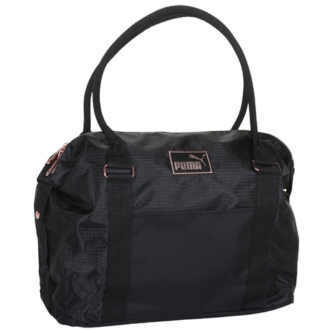 PUMA EVERCAT JANE TOTE BLACK/GOLD