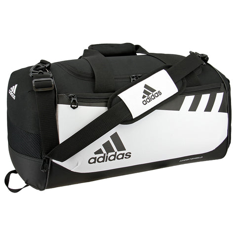ADIDAS TEAM ISSUE SMALL DUFFEL WHITE