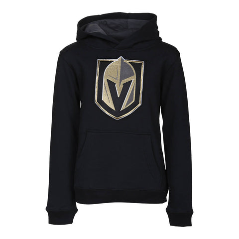 OUTERSTUFF YOUTH LAS VEGAS GOLDEN KNIGHTS PRIME BASIC HOODY BLACK