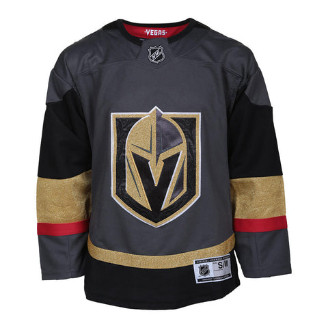 OUTERSTUFF YOUTH LAS VEGAS GOLDEN KNIGHTS PREMIER HOME JERSEY