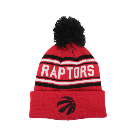 OUTERSTUFF YOUTH TORONTO RAPTORS JAQUARD CUFF W/POM
