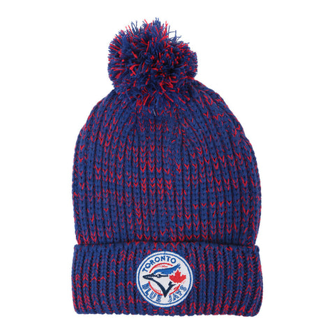 GERTEX WOMEN'S TORONTO BLUE JAYS POM KNIT HAT