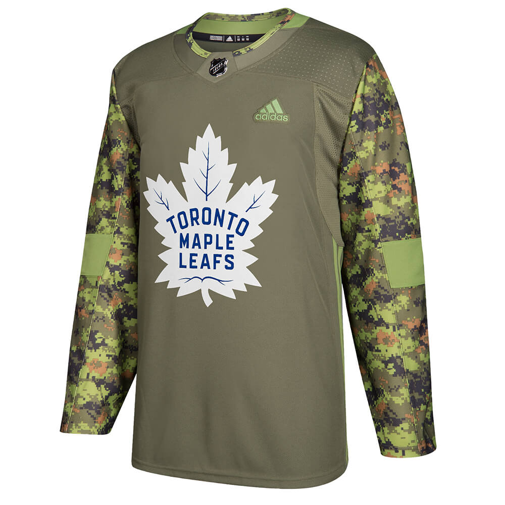 035cc6a78f9 ADIDAS MEN S TORONTO MAPLE LEAFS AUTHENTIC CAMO JERSEY – National Sports