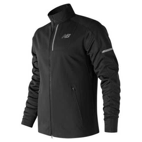 NEW BALANCE MEN'S WINDBLOCKER JACKET BLACK