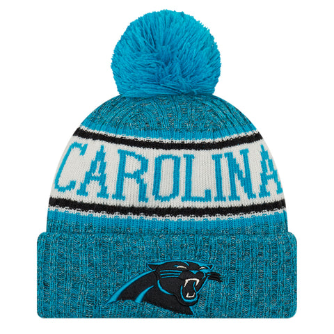 NEW ERA CAROLINA PANTHERS 2018 OFFICIAL COLD WEATHER SPORT KNIT BEANIE