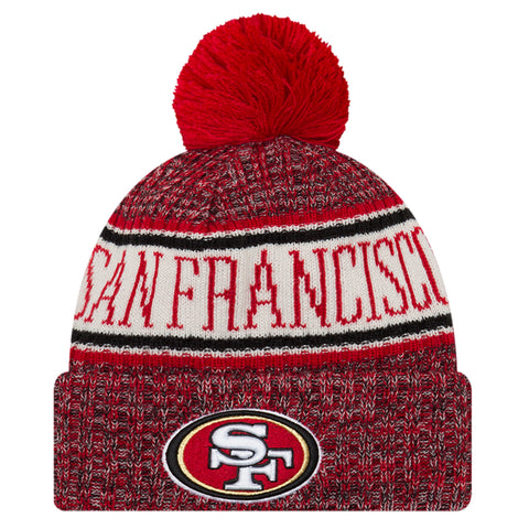 NEW ERA SAN FRANCISCO 2018 OFFICIAL COLD WEATHER SPORT KNIT BEANIE