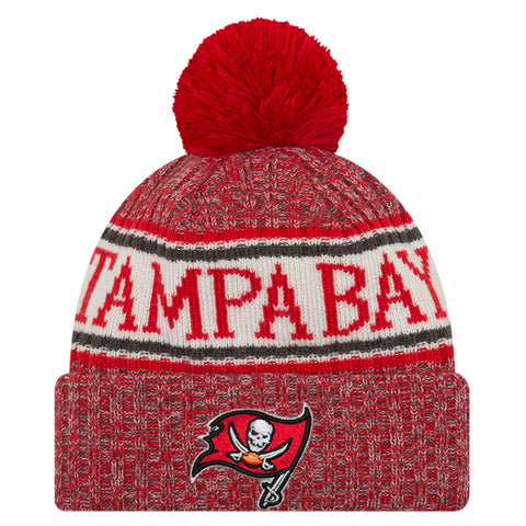 new product fdd1e 56fc0 NEW ERA TAMBA BAY BUCCANEERS 2018 OFFICIAL COLD WEATHER SPORT KNIT BEANIE