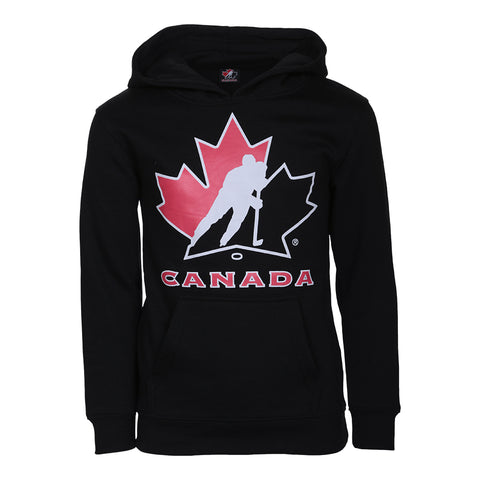 GERTEX YOUTH TEAM CANADA LOGO HOODY BLACK