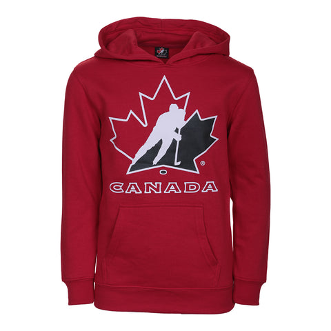 GERTEX YOUTH TEAM CANADA LOGO HOODY RED