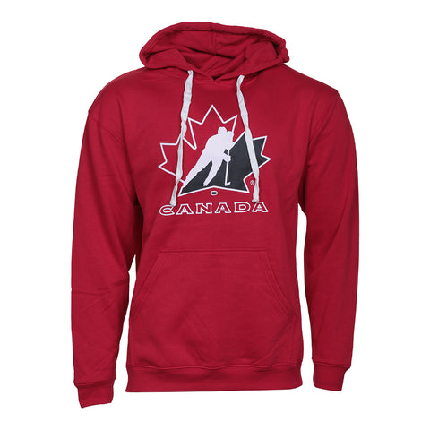 GERTEX MEN'S TEAM CANADA LOGO HOODY RED
