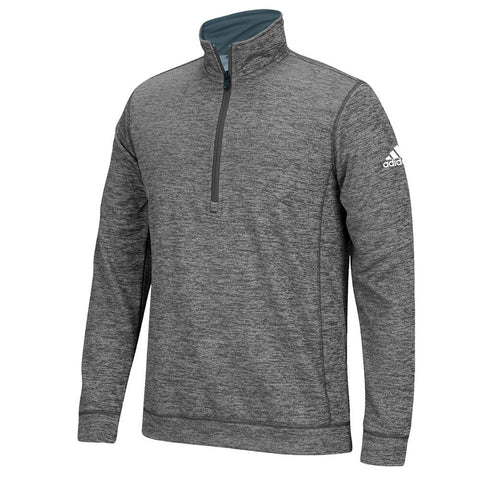 ADIDAS MEN'S TEAM ISSUE 1/4 ZIP TOP GREY