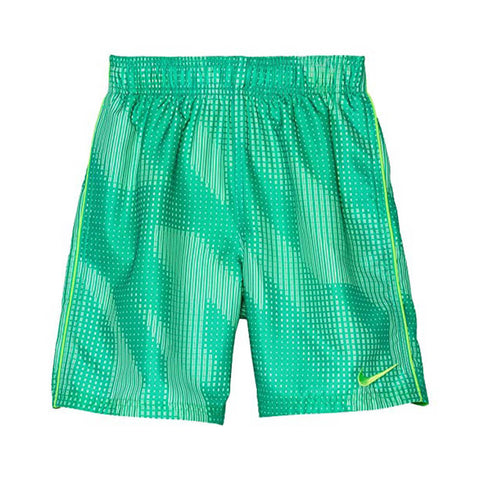 NIKE BOY'S TIDAL FLOW BREAKER 8 INCH VOLLEY TRUNK GREEN