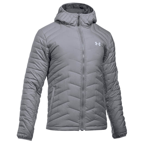 UNDER ARMOUR MEN'S CGR HOODED JACKET GRAY