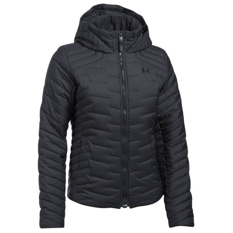 UNDER ARMOUR WOMEN'S CGR HOODED JACKET CARBON HEATHER