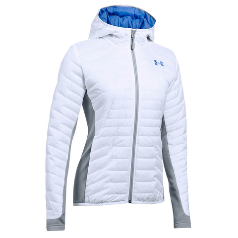 UNDER ARMOUR WOMEN'S CGR HYBRID JACKET WHITE