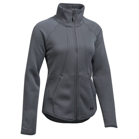 UNDER ARMOUR WOMEN'S EXTREME COLDGEAR JACKET GRAY