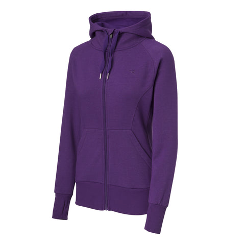 DIADORA WOMEN'S TACTICAL FLEECE HOODIE PETUNIA