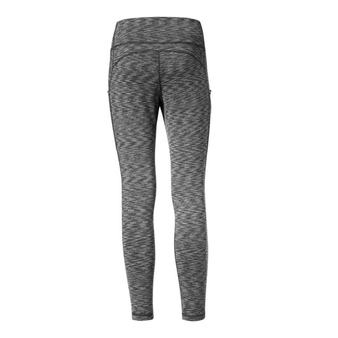 DIADORA WOMEN'S LUXE JACLYN LEGGING BLACK SPACEDYE