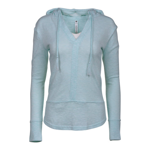 RIPZONE WOMEN'S NEWPORT HOODIE EXTENDED SIZE ISLAND PARADISE