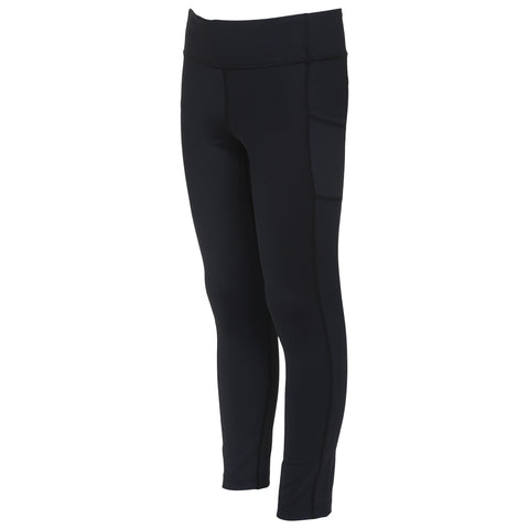DIADORA GIRL'S POCKET TIGHT BLACK