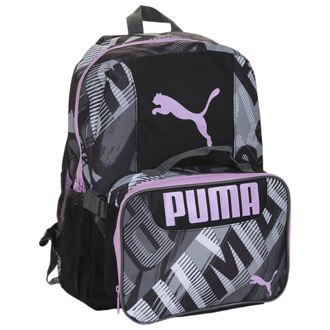 PUMA EVERCAT GRUB COMBO 2.0 BACKPACK BLACK/WHITE/GRAY