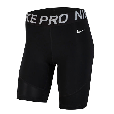 NIKE WOMEN'S PRO SHORT 8 INCH BLACK