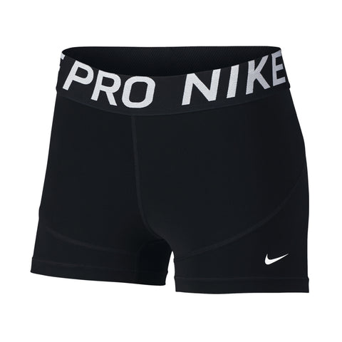 NIKE WOMEN'S PRO SHORT 3 INCH BLACK