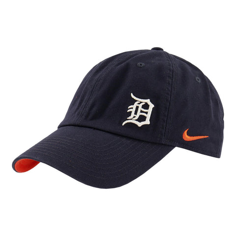 NIKE WOMEN'S DETROIT TIGERS H86 CAP NAVY