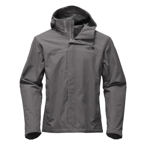 THE NORTH FACE MEN'S VENTURE 2 JACKET MED GREY RIPSTOP