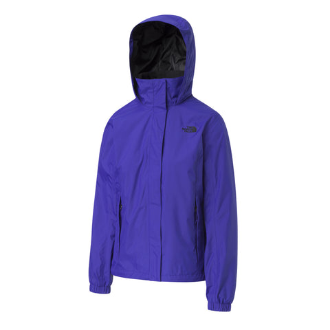 THE NORTH FACE WOMEN'S RESOLVE II RAIN JACKET AZTEC BLUE