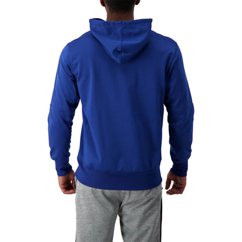 NIKE MEN'S TORONTO BLUE JAYS THERMA HOODY BLUE