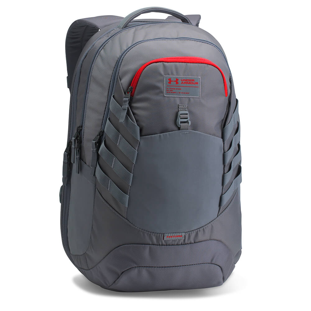 UNDER ARMOUR HUDSON BACKPACK RHINO GRAY – National Sports 73d81059fd856
