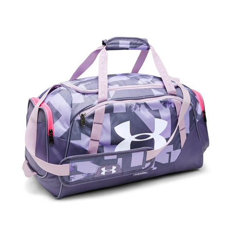 UNDER ARMOUR UNDENIABLE DUFFEL 3.0 SM PUR/LUXE/WHT PRINT