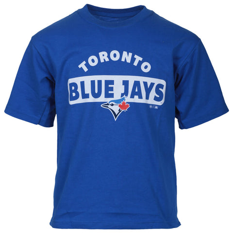 47 BRAND YOUTH TORONTO BLUE JAYS PLAYBACK SHORT SLEEVE TOP BLUE