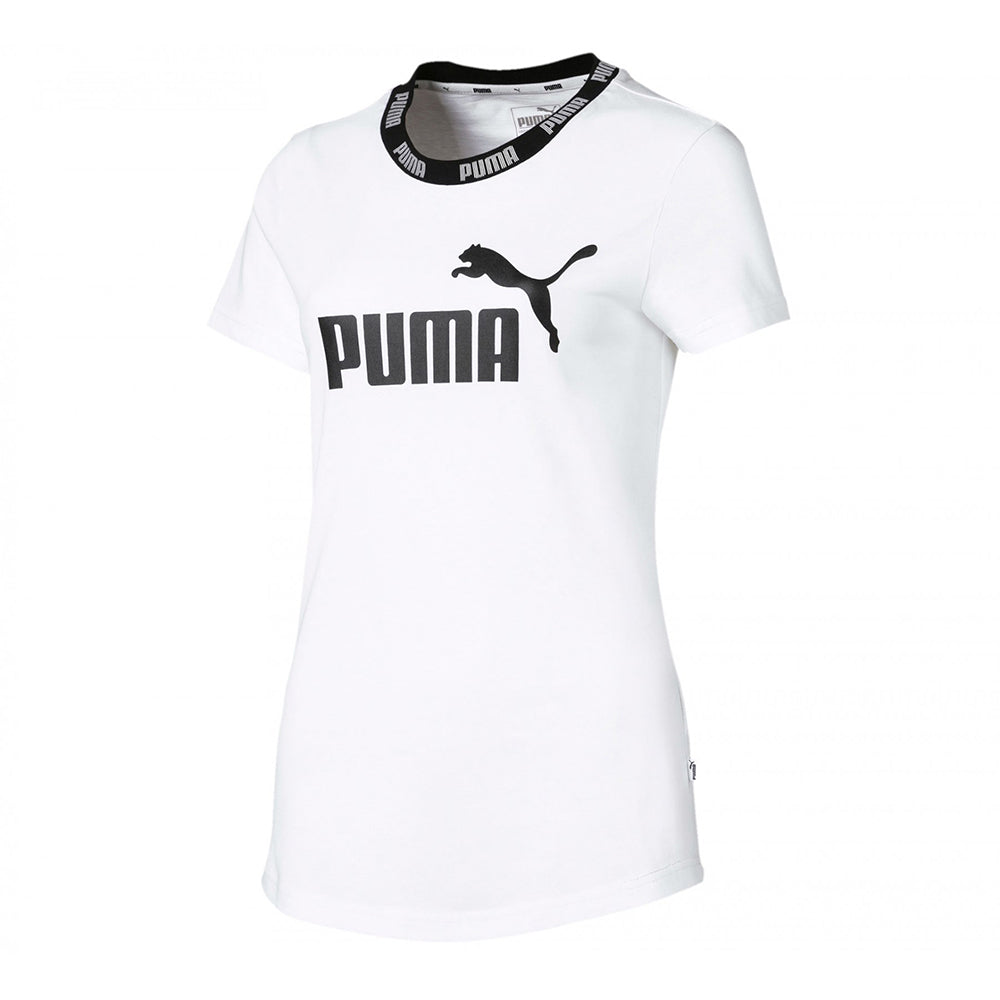 76bf785c9ff PUMA WOMEN'S AMPLIFIED TEE PUMA WHITE – National Sports