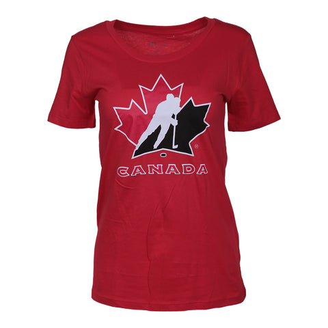 GERTEX WOMEN'S TEAM CANADA LOGO TOP RED