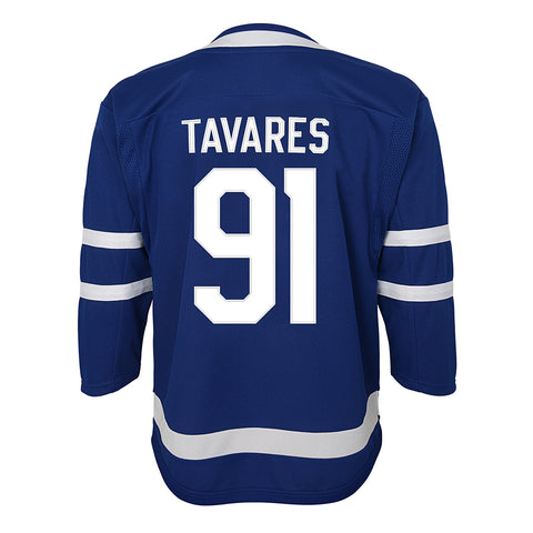 084a8f6d6 OUTERSTUFF YOUTH TORONTO MAPLE LEAFS TAVARES HOME JERSEY BLUE ...