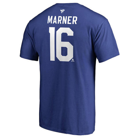 FANATICS MEN'S TORONTO MAPLE LEAFS MARNER AUTHENTIC STACK TEE BLUE