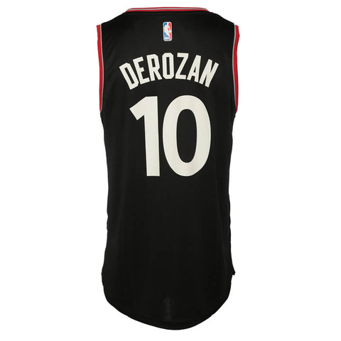 FANATICS MEN S RAPTORS DEROZAN FASTBREAK JERSEY BLACK ... 688643e9d