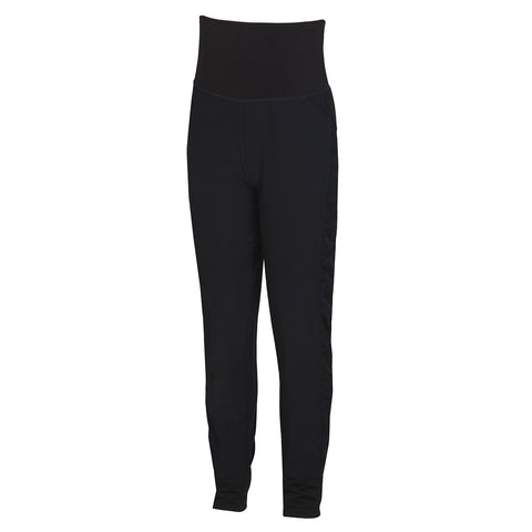 DIADORA GIRL'S STRETCH WOVEN DANCE PANT BLACK