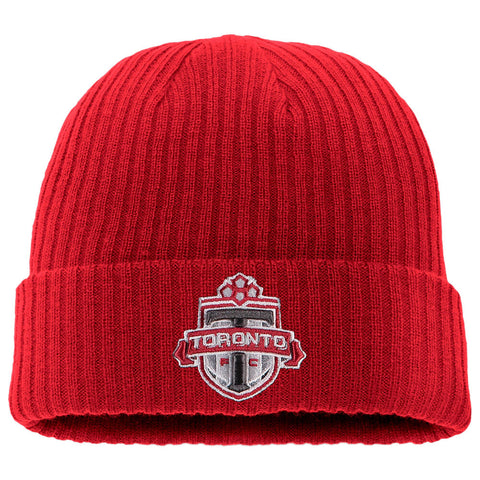 FANATICS MEN'S TFC CORE CUFFED KNIT HAT RED