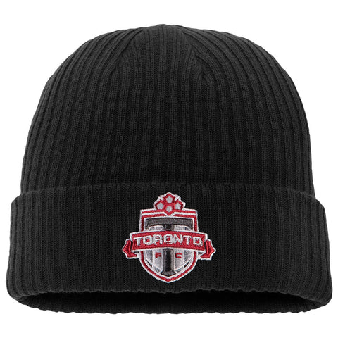 FANATICS MEN'S TFC CORE CUFFED KNIT HAT BLACK