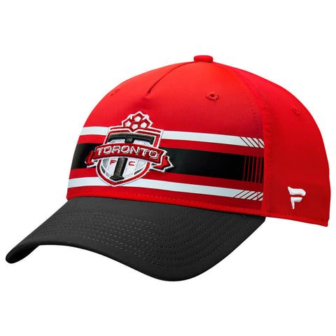FANATICS MEN'S TFC ALPHA ADJUSTABLE HAT RED/BLACK