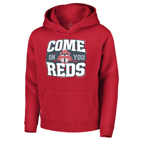 FANATICS YOUTH TORONTO FC FINE CONTRIBUTION HOODY