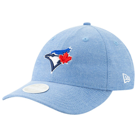 NEW ERA WOMEN'S TORONTO BLUE JAYS LINEN LEAP HAT OTC