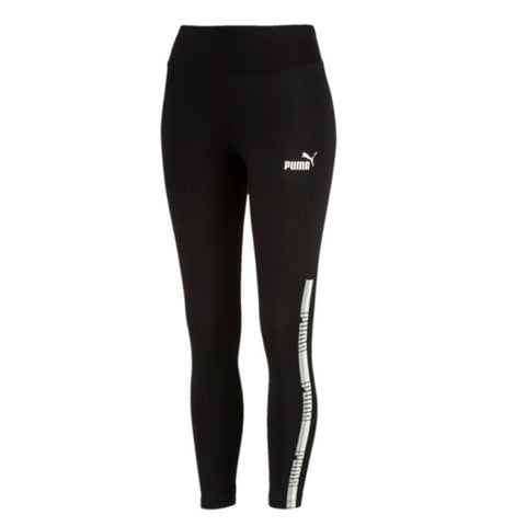 PUMA WOMEN'S TAPE LEGGINGS BLACK