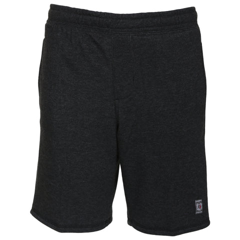 BURNSIDE BOY'S FLEECE SHORT CHARCOAL MIX