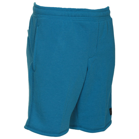 BURNSIDE BOY'S FLEECE SHORT BRIGHT TURQUOISE
