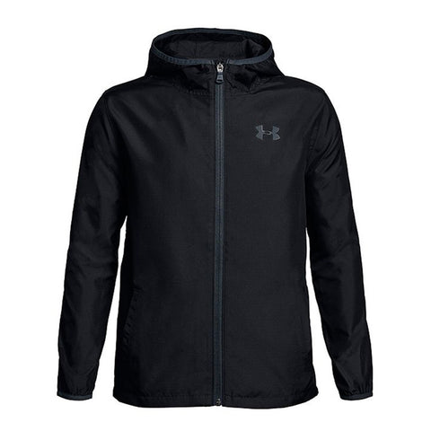 UNDER ARMOUR BOYS' SACK PACK JACKET BLACK